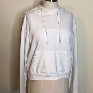 🔥Forever 21 White Sweatshirt Hoodie